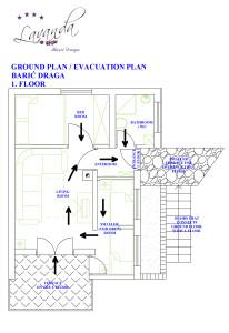 VILA LAVANDA - GROUND PLAN - 1 FLOOR